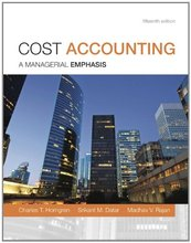 Test Bank for Cost Accounting Horngren 15th Edition