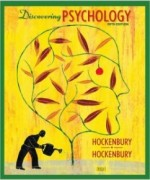 Discovering Psychology, 5th Edition: Don Hockenbury Test Bank