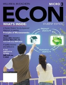 ECON Micro3, 3rd Edition : McEachern Test Bank