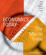 Economics Today The Macro View, 5th Canadian Edition: Miller Test Bank