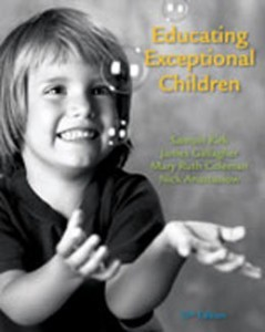 Educating Exceptional Children, 13th Edition: Kirk Test Bank
