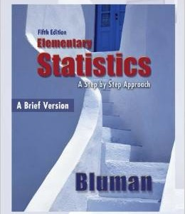 Elementary Statistics A Brief Version 5th Edition Bluman Test Bank