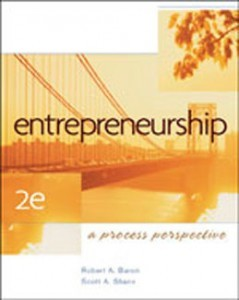 Entrepreneurship A Process Perspective, 2nd Edition: Baron Test Bank