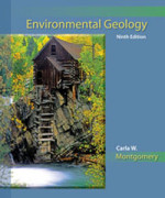 Environmental Geology, 9th Edition: Montgomery Test Bank