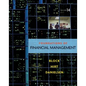 Test Bank for Foundations of Financial Management Block 14th Edition