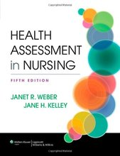 Test Bank for Health Assessment in Nursing Weber 5th Edition