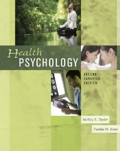 Health Psychology, 2nd Canadian Edition : Taylor Test Bank