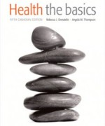 Health The Basics, Fifth Canadian Edition: Donatelle Test Bank