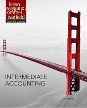 Test Bank for Intermediate Accounting Kieso 15th Edition