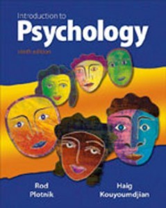 Introduction to Psychology, 9th Edition: Plotnik Test Bank