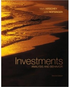 Investments: Analysis and Behavior, 2nd Edition: Mark Hirschey Test Bank