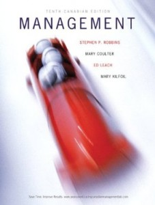 Management, 10th Canadian Edition : Robbins Test Bank