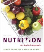 Nutrition: An Applied Approach, 3rd Edition: Janice Thompson Test Bank
