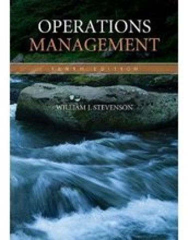 Test Bank for Operations Management Stevenson 10th Edition