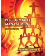 Performance Management, 3rd Edition: Herman Aguinis Test Bank