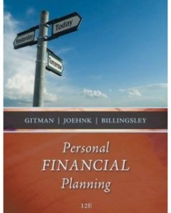 Personal Financial Planning, 12th Edition: Lawrence J. Gitman Test Bank
