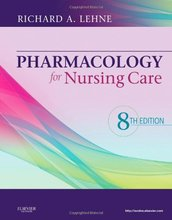 Test Bank for Pharmacology for Nursing Care Lehne 8th Edition