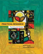 Test Bank for Practical Research Planning and Design Leedy 10th Edition