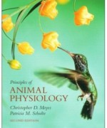 Principles of Animal Physiology, 2nd Edition: Christopher D. Moyes Test Bank