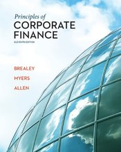 Test Bank for Principles of Corporate Finance Brealey 11th Edition