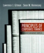 Principles of Corporate Finance, 2nd Canadian Edition : Gitman Test Bank
