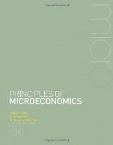Principles of Microeconomics, 5th Edition : Gans Test Bank