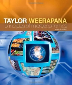Principles of Microeconomics, 7th Edition : Taylor Test Bank