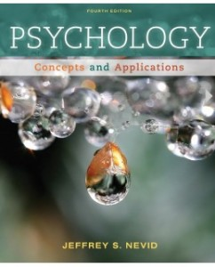 Psychology: Concepts and Applications, 4th Edition: Jeffrey S. Nevid Test Bank
