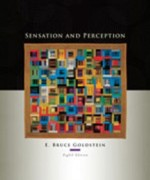 Sensation and Perception, 8th Edition: Goldstein Test Bank