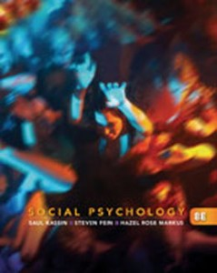 Social Psychology, 8th Edition: Kassin Test Bank