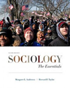 Sociology The Essentials, 6th Edition: Andersen Test Bank