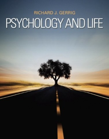 Psychology and Life 20th Edition by Gerrig Solution Manual