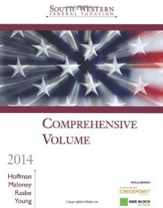 South Western Federal Taxation 2014 Comprehensive Professional Edition 37th Edition William H Hoffman Test Bank