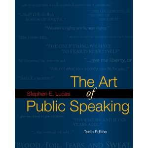 The Art of Public Speaking, 10th Edition : Lewis Test Bank