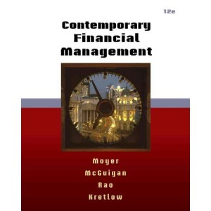 Test Bank for Contemporary Financial Management Moyer 12th Edition