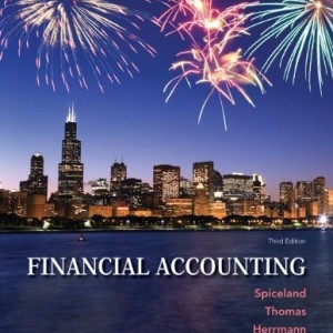 Financial Accounting Spiceland 3rd Edition Solutions Manual
