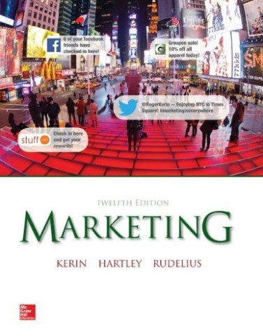 Test Bank for Marketing Kerin 12th Edition
