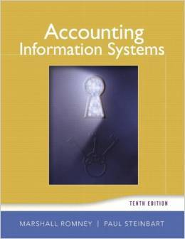 Instructor Manual For Accounting Information Systems (10th Edition) by Marshall B. Romney , Paul J. Steinbart