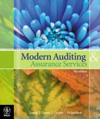 Modern Auditing and Assurance Services 5th edition By Philomena Leung, Paul Coram, Barry J. Cooper, Peter Richardson Solution Manual