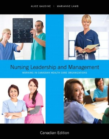 Nursing Leadership and Management, 1st Canadian Edition PowerPoints