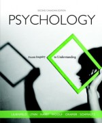 Test Bank for Psychology: From Inquiry to Understanding, 2e Canadian