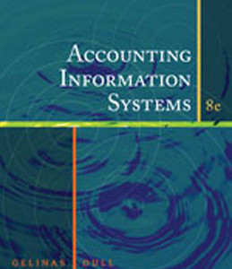 Accounting Information Systems, 8th Edition: Gelinas Download Test Bank