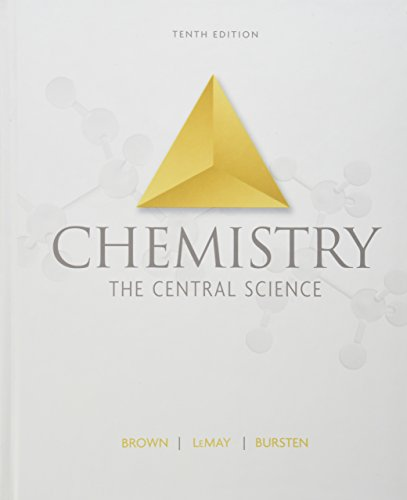 Test Bank For Chemistry: The Central Science, 10th Edition 10th Edition