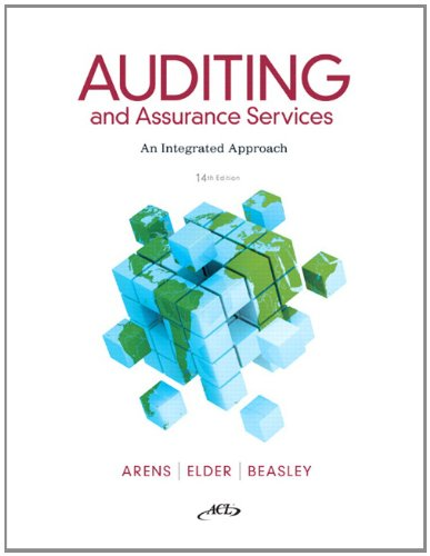Test Bank For Auditing and Assurance Services (14th Edition) 14th Edition