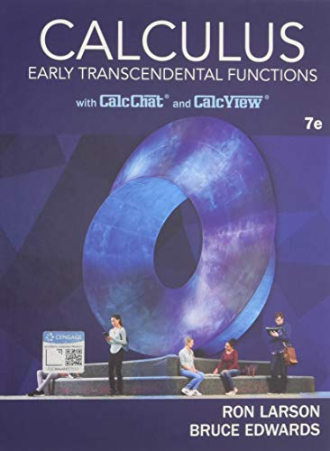 Test Bank For Calculus: Early Transcendental Functions 7th Edition