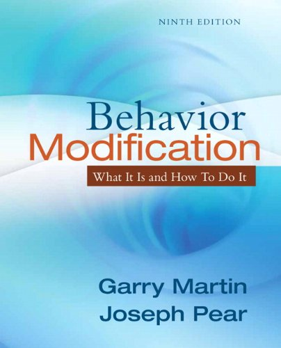 Test Bank For Behavior Modification: What It Is and How To Do It 9th Edition