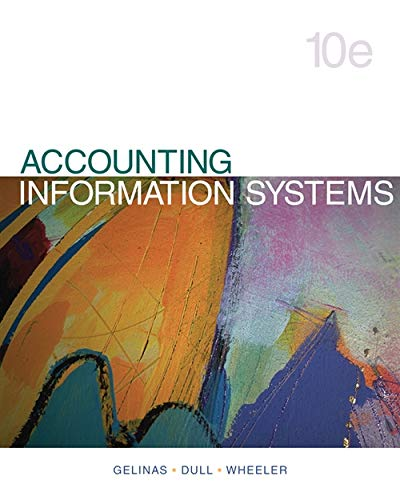 Test Bank For Accounting Information Systems 10th Edition
