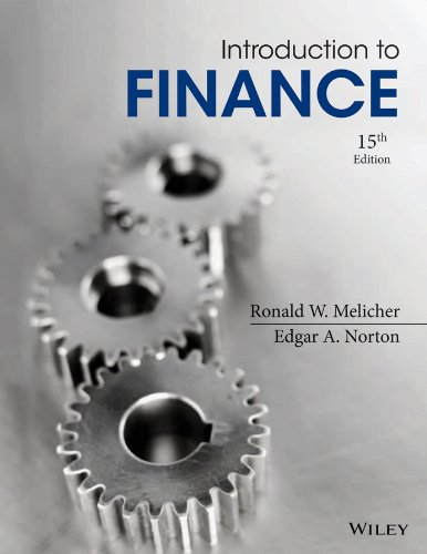 Test Bank For Introduction to Finance: Markets, Investments, and Financial Management 15th Edition