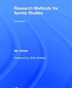 Test Bank For Research Methods for Sports Studies: Third Edition 3rd Edition