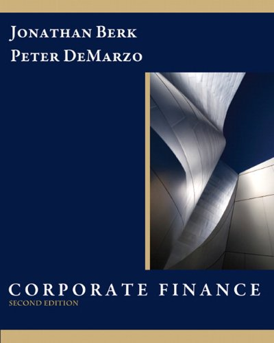 Test Bank For Corporate Finance (2nd Edition) 2nd Edition